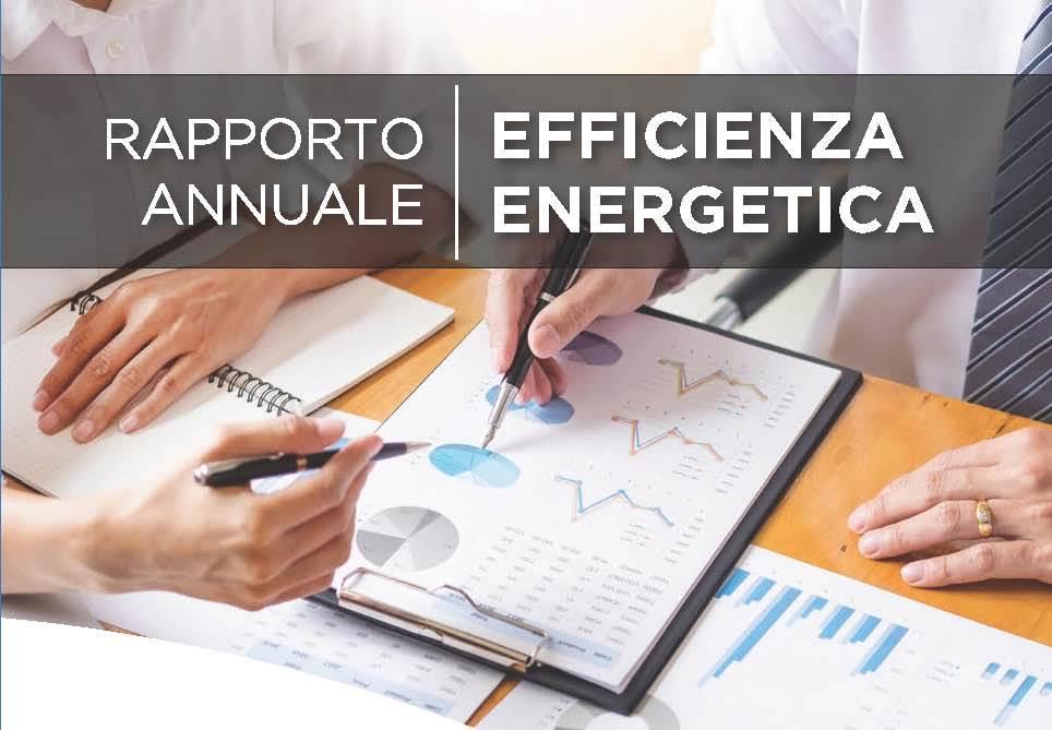 ENEA pubblica il rapporto annuale efficienza energetica 2019